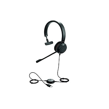 Jabra – Casque d'écoute mono Bluetooth MS Evolve 30 II (5393-823-309)