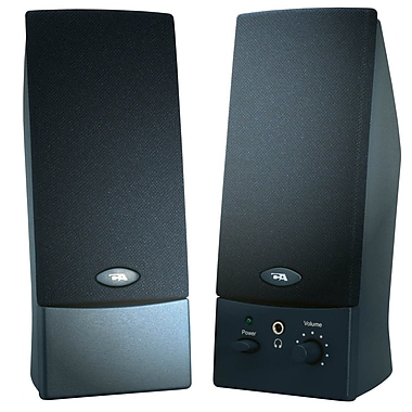 Cyber Acoustics 2.0 Powered Speaker System (CA-2011WB)