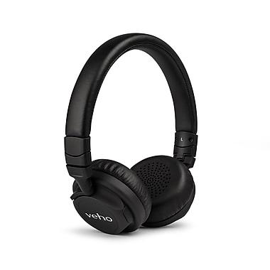 Veho - Casque d'écoute sans fil Bluetooth supra-auriculaire, noir (VEP-012-ZB5)