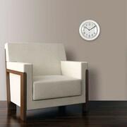 "FirsTime® 11"" White Slim Wall Clock"