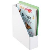 Linus Magazine/File Organizer, White (42041)