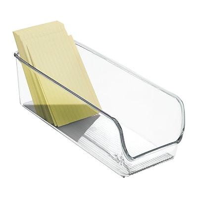 InterDesgin Linus Regrigerat and Freezer Binz, Fridge/Pantry Organization, Clear, Plastic (56830)