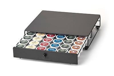 Single Tier K-Cup Rolling Drawer - 36 Capacity