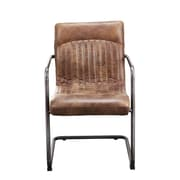 Moe's Home Collection Ansel Genuine Leather Upholstered Dining Chair (Set of 2)