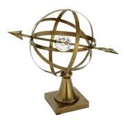 Cole & Grey Metal Acrylic Globe