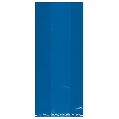 Amscan Cello Party Bags, 11.5''H x 5''W x 3.25''D, Bright Royal Blue, 9/Pack, 25 Per Pack (379510.105)
