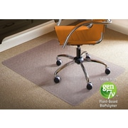 "ES Robbins BioBased Chairmat, 46"" x 60"", Rectangle LowPile"