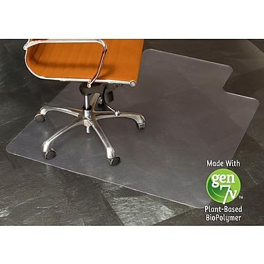 ES Robbins - Sous-chaise matière biosourcée, 45 x 53 po, bordure plancher bois