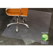 "ES Robbins BioBased Chairmat, 46"" x 60"", Rectangle Hard Floor"