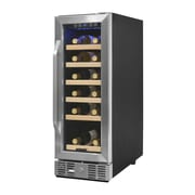 Newair AWR-190SB Compact 19 Bottle Compressor Wine Cooler