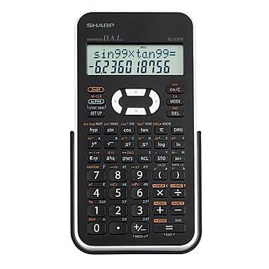 Sharp – Calculatrice scientifique 272 fonctions (EL531XBWH)