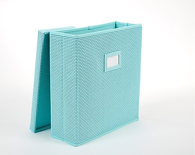 Office by Martha Stewart™ Office Storage System Magazine Bin, Blue (44637)