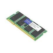 AddOn DDR3-1600/PC3-12800 SODIMM 204-Pin RAM Module, 2GB (1 x 2GB) (03T6456-AAK)