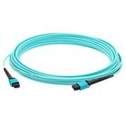 AddOn MPO Female/Female Patch Cable, 3.3', Aqua (ADD-MPOMPO-1M5OM3)