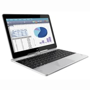 "HP EliteBook Revolve 810 G3 11.6"" Convertible Notebook, LCD, Intel Core i5-5200U, 256GB SSD, 8GB, Win 10 Pro, Silver"
