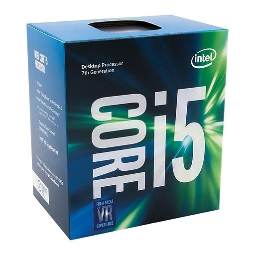 Intel Core i5-7600K Desktop Processor, 3.8 GHz, Quad Core, 6MB SmartCache (BX80677I57600K)
