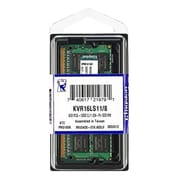 Kingston DDR3L-1600/PC3L-12800 SODIMM 204-Pin RAM Module, 8GB (1 x 8GB) (KVR16LS11/8)