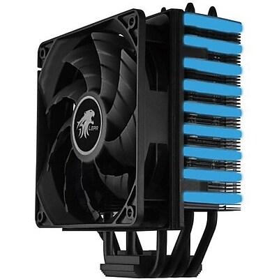 LEPA NEOllusion 1800 RPM 120 mm CPU Cooler, Black/Blue (LPANL12)