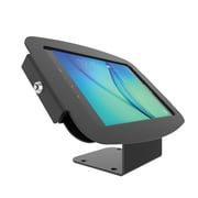 "Maclocks 101B697AGEB Space Aluminum Enclosure Kiosk for 9.7"" Samsung Galaxy Tab A, Black"