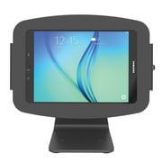 "Maclocks 303B910AGEB Space Aluminum 360 deg Rotating Enclosure Kiosk for 10.1"" Samsung Galaxy Tab A, Black"