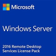 Microsoft Windows Server 2016 Remote Desktop Services Software License, 5 User CALs (871232-DN1)