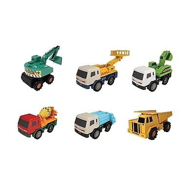 Mota 6-Piece Heavy Duty Industrial Truck Toy Set (UTILTRUCK-6)