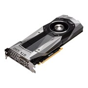PNY GeForce GTX 1080 Founders Edition 8GB PCI Express 3.0 Graphic Card, Silver (VCGGTX10808PB)