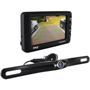 Pyle Wireless Rearview Back-Up Camera/Monitor Parking/Reverse Assist System, Black (PLCM3550WIR)