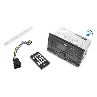 Pyle Bluetooth Digital Car Flash Audio Player, Black (PLRDD19UB)