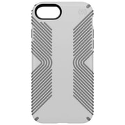 "speck 79987-5728 Presidio Polycarbonate Grip Case for 4.7"" Apple iPhone 7, White/Ash Grey"