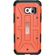 "Urban Armor Gear GLXS7-RST Composite Hard Shell Case for 5 1/2"" Samsung Galaxy S7 Edge, Black/Rust"