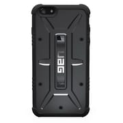"Urban Armor Gear UAG-IPH6/6S-BLK-VP Composite Hard Shell Case for 4.7"" Apple iPhone 6/6S, Black"