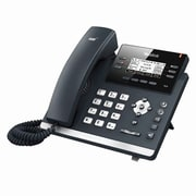 "Yealink SIP-T42G 12-Line Ultra-Elegant Gigabit IP Phone with 2.7"" LCD Display, Black"