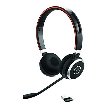 Jabra – Casque d'écoute stéréo Bluetooth MS Evolve 65 (6599-823-309)