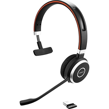 Jabra – Casque d'écoute mono Bluetooth MS Evolve 65 (6593-823-309)