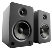Kanto YU6 Powered Bookshelf Speakers with Bluetooth and Phono Preamp, Matte Black