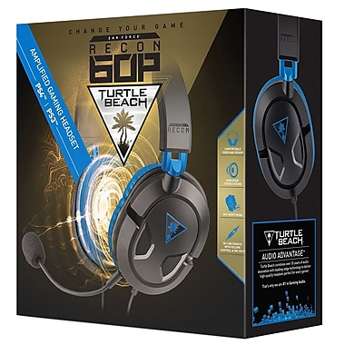 Turtle Beach – Casque de jeu filaire Ear Force Recon 60P, PS4/PS3 (731855033089)
