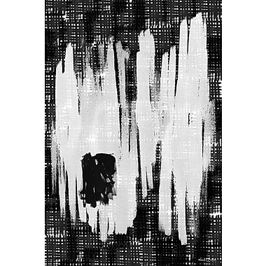 Maxwell Dickson ''Erased Memory'' Graphic Art on Canvas; 36'' H x 48'' W