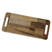 Bottles & Wood 2 Handled Serving Cheese Board; Medium