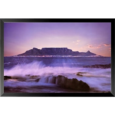 Buy Art For Less 'Table Mountain' Framed Photographic Print; 24'' H x 36'' W x 1'' D