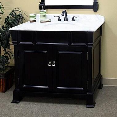 Bellaterra Home Osgood 42'' Single Bathroom Vanity Set; Espresso