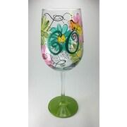 Pat Barker Designs 60th Birthday Wine Glass