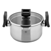 Koch Systeme by Carl Schmidt Sohn Lift and Pour Stock Pot w/ Lid; 4.5'' H x 8'' W x 8'' D