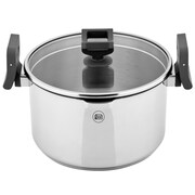Koch Systeme by Carl Schmidt Sohn Lift and Pour Stock Pot w/ Lid; 5.5'' H x 9.5'' W x 9.5'' D