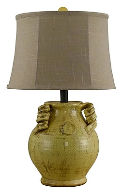 AHS Lighting Gruyere Urn 24'' Table Lamp