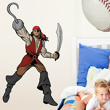 Wallhogs Winn Pirate Cutout Wall Decal; 48'' H x 27.5'' W