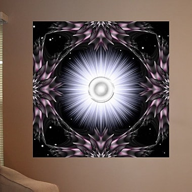 Wallhogs Xzendor7 Garden of Light Wall Mural; 24'' H x 24'' W