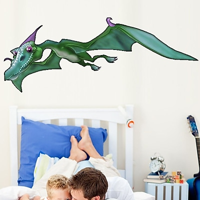 Wallhogs Pterodactyl I Wall Decal; 9'' H x 24'' W