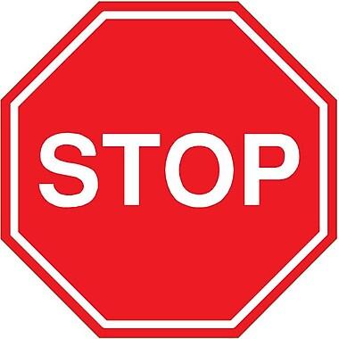 Wallhogs Stop Sign Wall Decal; 36'' H x 36'' W