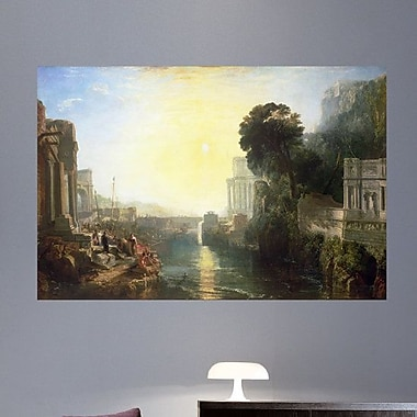 Wallhogs Turner The Rise of The Carthaginian Empire (1815) Wall Mural; 48'' H x 72'' W